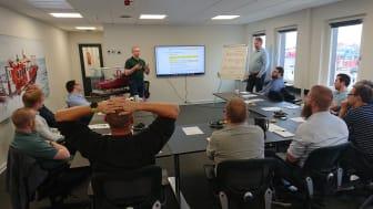 Vidensdeling, forberedelse af arbejdet og risikovurdering er blot nogle få af de emner, der blev vendt på workshoppen