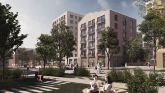 Detaljplan klar för Riksbyggens 900 bostäder på Kopparlunden