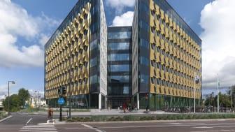 Kontorshuset Citypassagen i Örebro som är nominerad till Glaspriset 2020 - Fotograf: Erik Wik