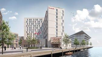 Scandic med nytt flyplasshotell ved København Kastrup