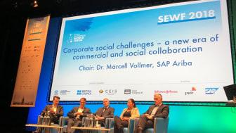 SAP og Social Enterprise World Forum (SEWF) har indledt et treårigt partnerskab, hvor SAP vil fungere som teknologipartner for SEWF.
