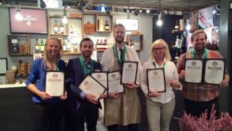 Vinnare på Stockholm Beer & Whisky Festival 2015