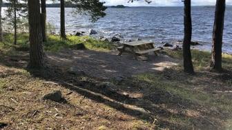 Björnöarna i Falu kommun är ett av de nya naturreservat som bildades under förra året. Foto: Falu kommun