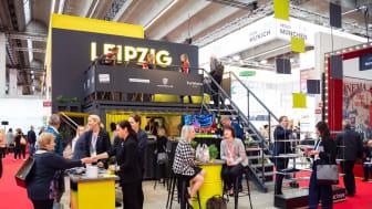 Leipzig-Präsentation auf der IMEX 2019 in Frankfurt - Foto: Svenja Sauer