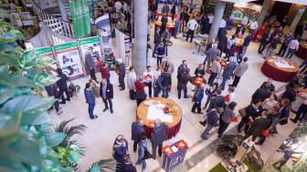 27 Industrieaussteller präsentierten auf der Ausstellung Innovationen der Branche