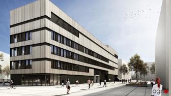 ZÜBLIN war Generalunternehmen für den Forschungsbau ZESS (Copyright: agn)