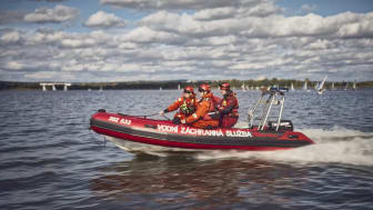 Tým vodních záchranářů na Nových Mlýnech je složený z dobrovolníků