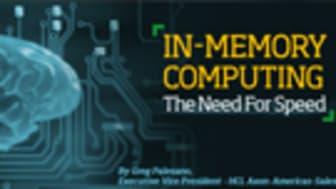 Muistinvarainen tietojenkäsittely: Tarve nopeudelle