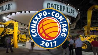 Caterpillar presenterar nya maskiner och teknologi på CONEXPO 2017