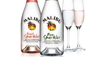 Malibu® Pops the Top Off Its Latest Product Innovation: Malibu® Rum Sparkler