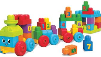 Mega Bloks 123 Lernzug
