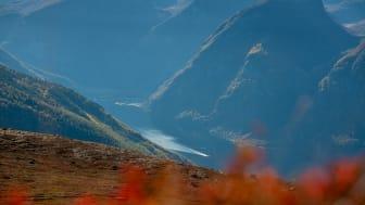 Fjellturer i Aurland byr på flott utsikt over UNESCO Verdensarvlandskapet
