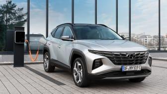 Helt nya Hyundai Tucson Plug-in Hybrid.