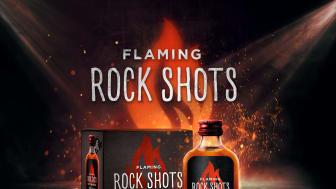 Flaming Rock Shots Hot Cinnamon