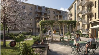 Byggstart av Brf Guldpennan sker inom kort och inflyttningen är planerad till maj/juni 2021.