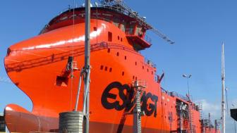 ESVAGTs nye skifteskib blev søsat ved Zamakone skibsværftet i Bilbao.