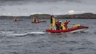 Den båttyp (Gunnel Larson-klassen) som är aktuell för RS Strängnäs är åtta meter lång och specialbyggd för sjöräddning.