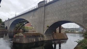 Reparbete skapar mervärde vid broinspektioner