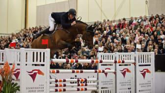 Som enda dubbelnolla i klassen vann Jens Fredricson tillsammans med hästen Uncanto di Villagana. Foto: Haide Westring.