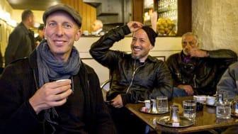 Erik Gandini och Tarik Saleh. Foto: Loa Bie/Massa Media