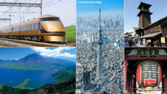 Recommended sightseeing spots and travel service by Tobu Railway