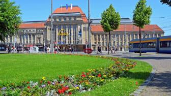 Der Hauptbahnhof ist für viele Touristen Leipzigs erste Visitenkarte - Foto: Andreas Schmidt