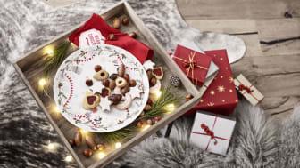 """Mit der Sammeledition """"Schneeflöckchen, Weißröckchen"""" feiert Hutschenreuther in diesem Jahr die Weihnachtszeit."""