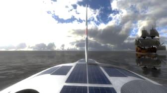 On board Mayflower