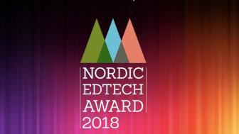 Nu öppnar ansökan för Nordic Edtech Awards 2018