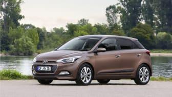 Nye Hyundai i20 (skrått forfra venstre)