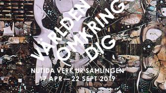 Ulf Wahlberg, Världen omkring mig III (detalj), 1970-1972, Göteborgs konstmuseum