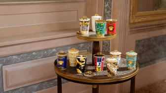 Eleganter Lichtblick: Rosenthal meets Versace Scented Candles.