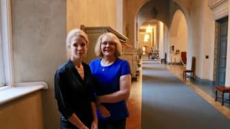 Anna König Jerlmyr & Irene Svenonius