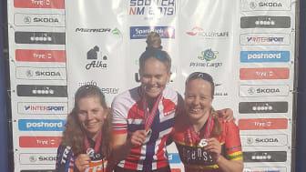 Enstad og Siggerud vant NM terreng sprint Son 2019