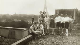 Dansarna på taket till Théâtre des Champs-Elysées i Paris, 1920.