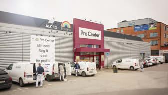 Securitas tecknar avtal med Alcro Pro Centers tio butiker i Sverige. Foto: Alcro Pro Center.