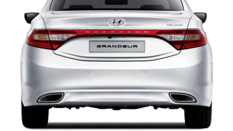 Hyundai Grandeur (bak)