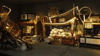 23 april är sista dagen att se utställlningen ''Tutankhamun – graven och skatterna'' innan den lämnar Sverige