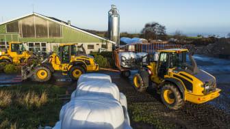 Volvo hjullastare i lantbruket - L45G, L50G och L60G