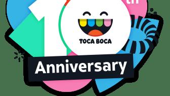 Toca Boca 10th Anniversary Logo