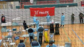 Falck har nu 6o lyntest centre fordelt i Region Nordjylland, Midtjylland og Sjælland samt i lufthavnen i Billund, Aalborg og Kastrup