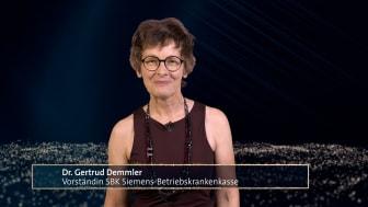 Felix Burda Award 2021: Dr. Gertrud Demmler