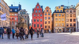 Goda nyheter från Stockholm!