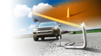 •ContiSeal™ pystyy paikkaamaan suurimman osan renkaan kulutuspinnan pistorei'istä.