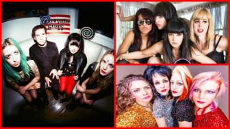 Death Valley Girls, The Darts (US), The Priscillas