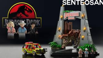 A comparison of Lego fan senteosan's submission (left) and Lego's final product (right)