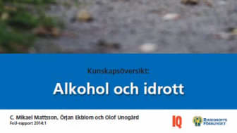 Ny kunskapsskrift: Så påverkar alkohol din träning