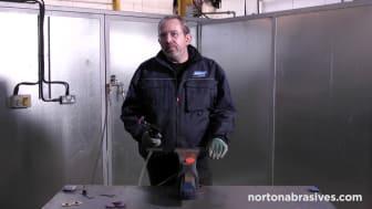 Norton minikulmahiomakone - Video 3