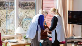 Inom ramen för studien gjordes över 5000 observationer på 103 vårdavdelningar.