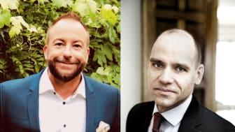 Till vänster: Paul Rundqvist. Till höger: Lars Österberg